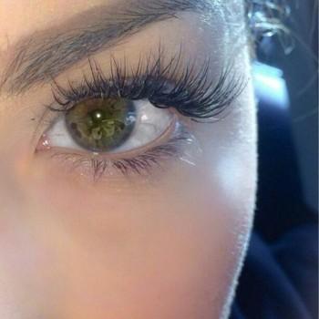 eyelash close